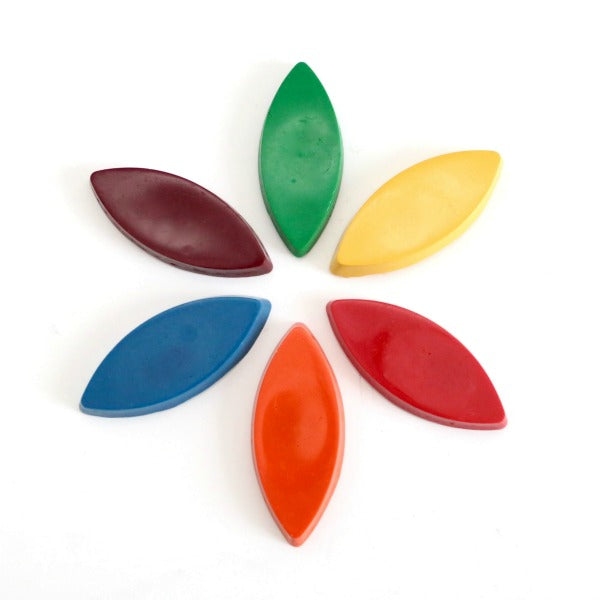 Tinta Crayons for Kids and Toddlers - Petals in Primary Colours