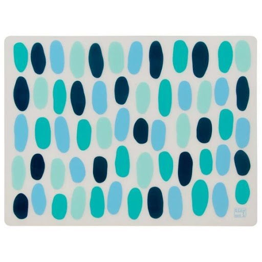 Tiny and I Silicone Placemats - Marine Pebble