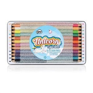 Kids Stationery  Unicorn Sparkle 50/50 Pencils (Set of 12)