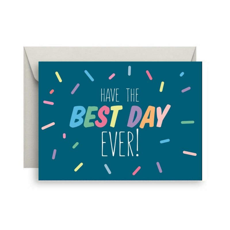 Van Wright FoundationHave The Best Day Ever card