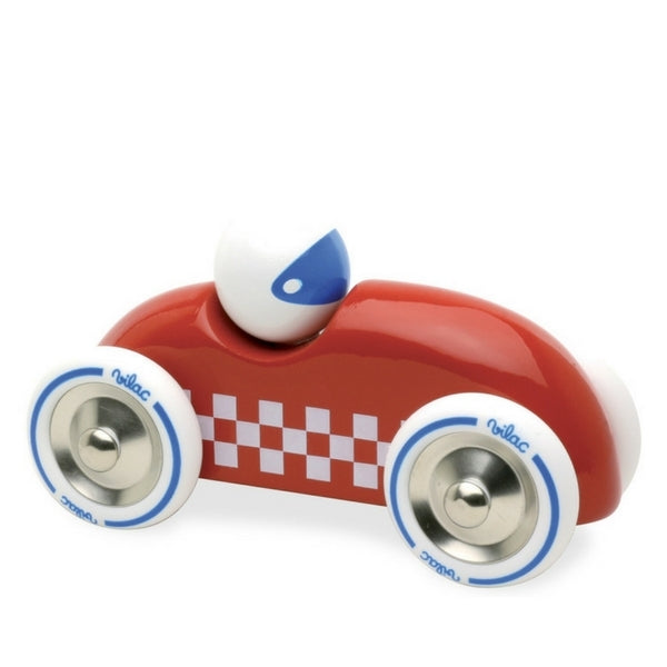 Large Toy Wooden Rally Car