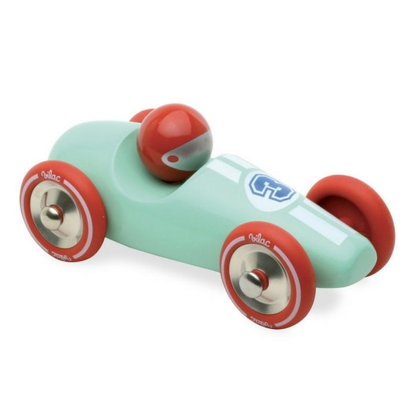 Large Toy Wooden Race Car