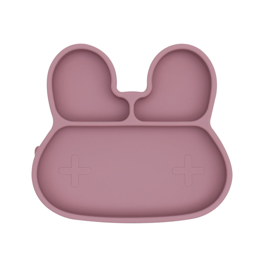 We Might Be Tiny - Bunny Stickie Plate Dusty Rose
