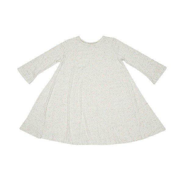 The Story Of Jacky Long Sleeve Dress White