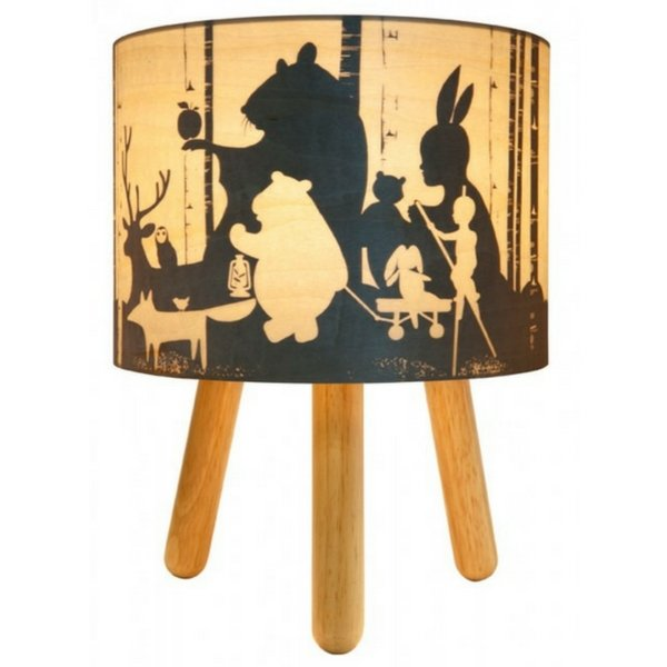 Micky & Stevie Kids Lamp Wild Imagination  Timber