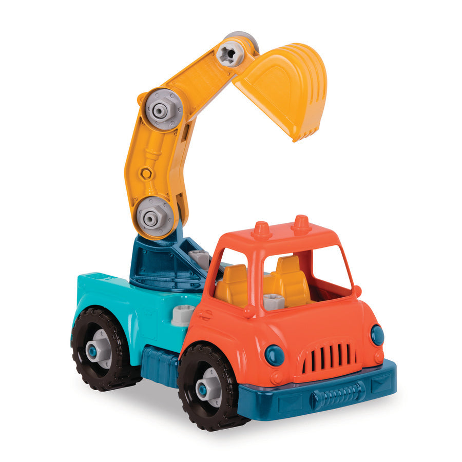 Wonder Wheels Take Apart Toy - Crane Truck
