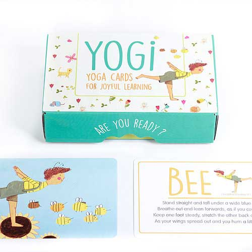 Yogi Fun - Yogi Yoga Cards For Joyful Learning