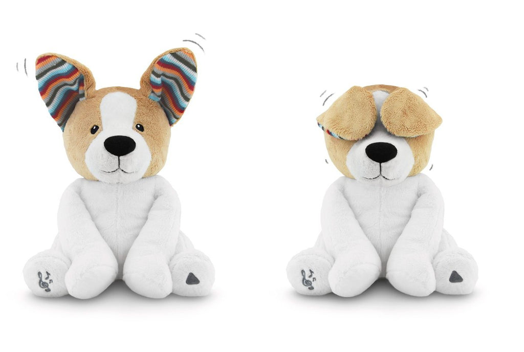 ZAZU Peek-a-boo Soft Toy Dog