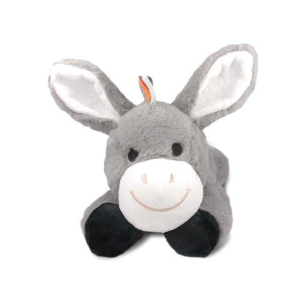 ZAZU Plush Comforter Heartbeat and White Noise Toys Don the Donkey