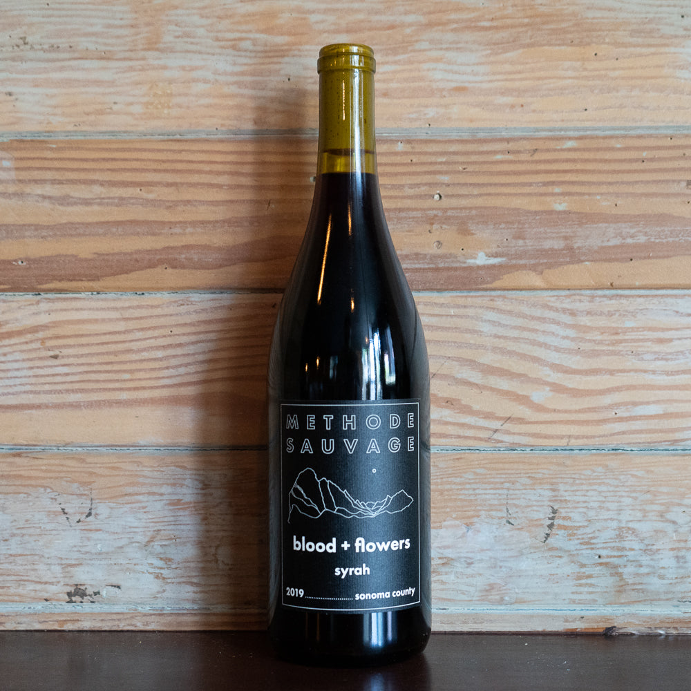 Methode Sauvage 'blood & flowers' Syrah Sonoma, California 2019