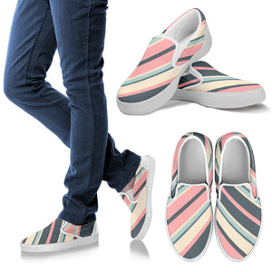 Tiffany Grey - Slip-On Shoes Candyman Cotton Candy for Her