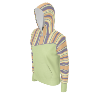 Tiffany Grey - Candyman Fruity Macarons Lime Hoodie for Her [Lightweight]