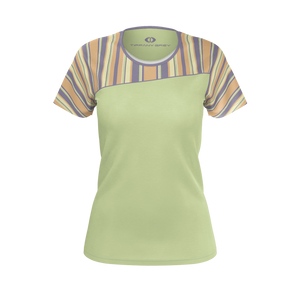 Tiffany Grey - Candyman Fruity Macarons T-shirt for Her [Lime Variant]