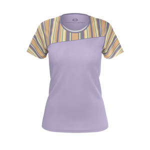 Tiffany Grey - Candyman Fruity Macarons T-shirt for Her [Violet Variant]