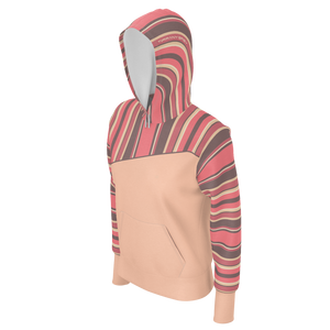 Tiffany Grey - Candyman Light Coral Cake Hoodie for Her [Lightweight]