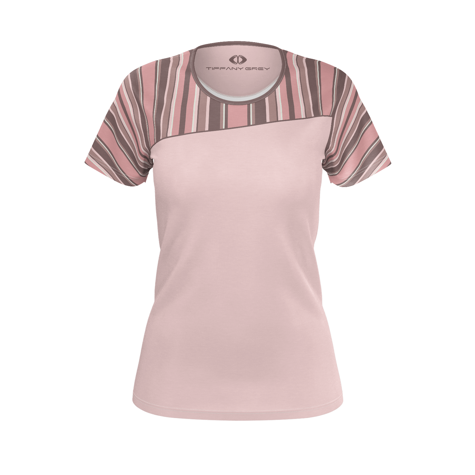 Tiffany Grey - Candyman Pink Brownies T-shirt for Her [Light Variant]