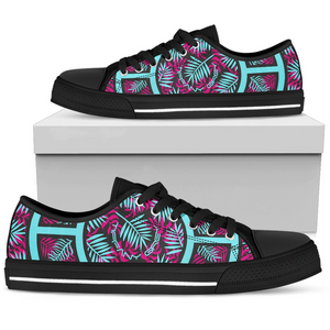 Tiffany Grey - Low Top Junglenaut Icebound Pink Sneakers for Her