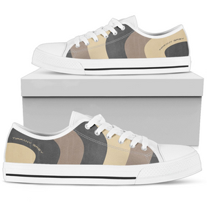 Tiffany Grey - Low Top MyWay Camel Dessert Sneakers for Her