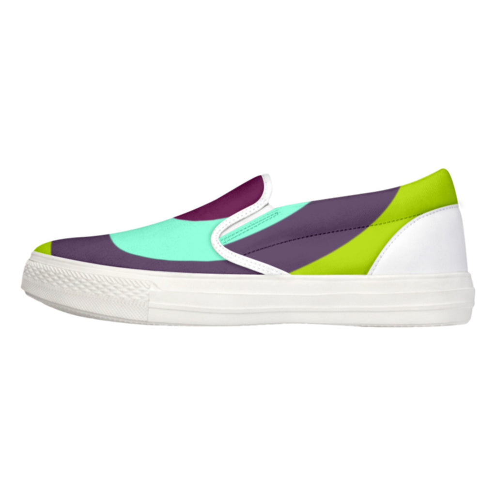 Tiffany Grey - Slip-On Shoes MyWay Acid Garden for Her