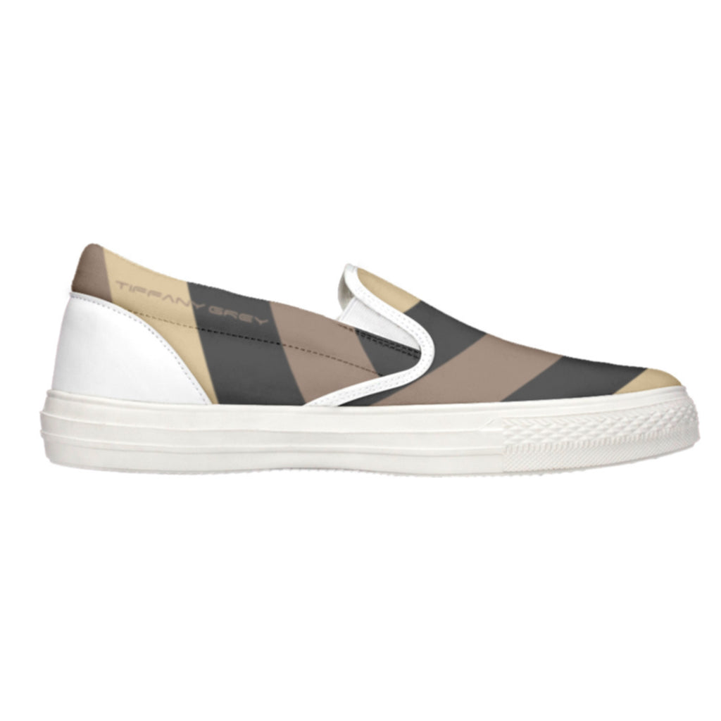 Tiffany Grey - Slip-On Shoes MyWay Camel Dessert for Her