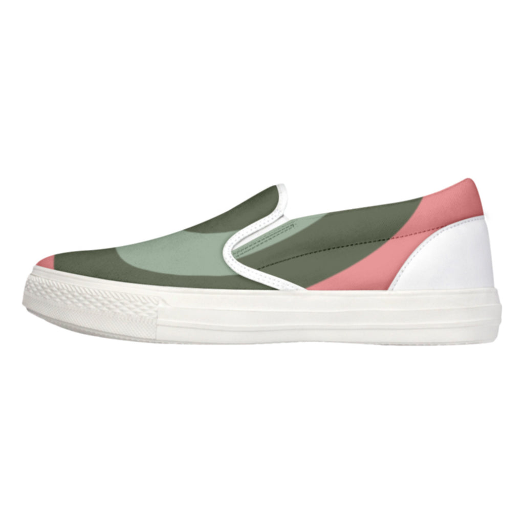 Tiffany Grey - Slip-On Shoes MyWay Peach Fox for Her
