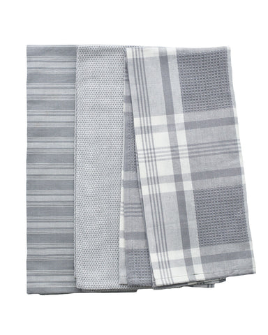 Gray Tea Towel Set