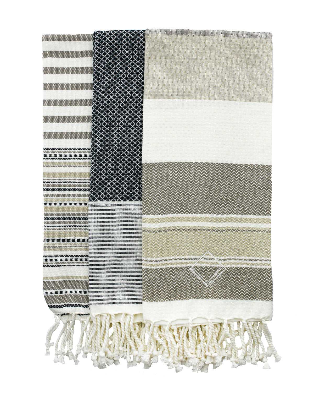 Fringe Tea Towel Set