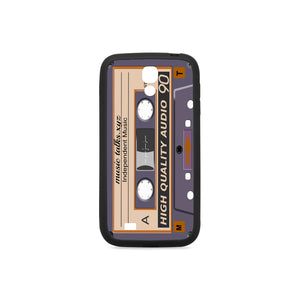 Cassette Rubber Case for Samsung Galaxy S4