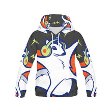 Womens all over printed hoodie