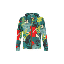 Kids All-Over Print Zipped Hoodie
