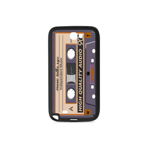 Cassette Rubber Case for Samsung Galaxy Note 2