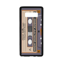 Cassette Laser Style  Rubber Case for Samsung Galaxy Note8(with Hard Plastic Back)