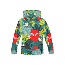 Fox in The Forest Youth All Over Print Hoodie