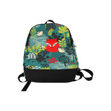 Fox In The Forest All-Over Print Unisex Casual Backpack
