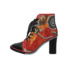 Chunky Heel Womens Ankle Boots