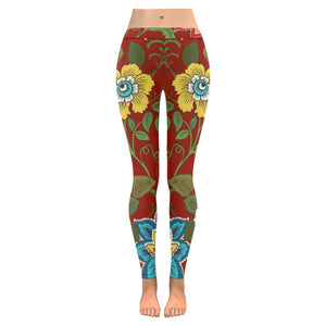 All over printed Trendy Women's Leggings