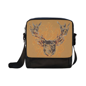 Graphic Cross-Body Shoulder Bag