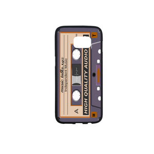 Cassette Rubber Case for SamSung Galaxy S7 Edge