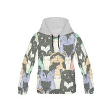 Full printed Cats Youth Hoodie