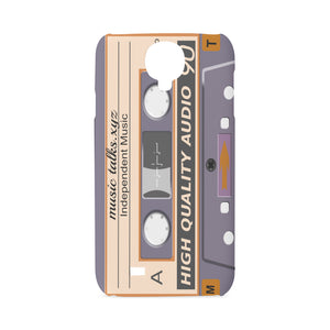 Purple Cassette Hard Case for SamSung Galaxy S4