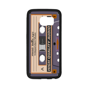 Cassette Rubber Case for Samsung Galaxy S6 Edge