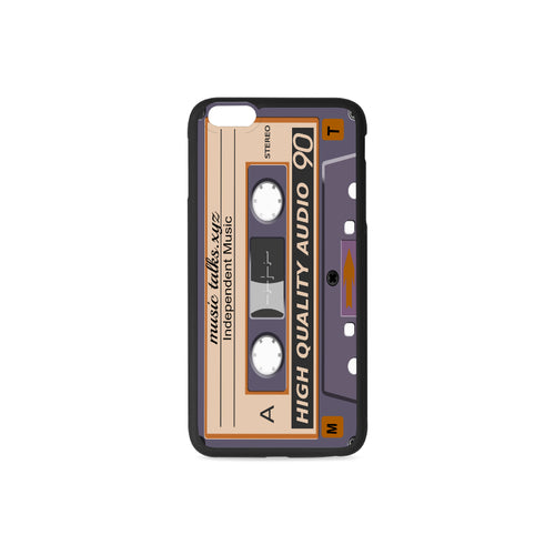 Purple Cassette iPhone Cases