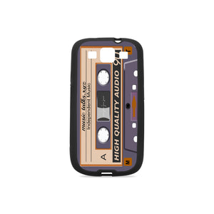 Cassette Rubber Case for Samsung Galaxy S3