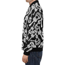 Guitar Man Men's All Over Print Casual Jacket
