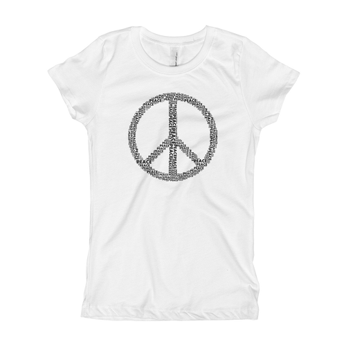 Peace Girl's T-Shirt