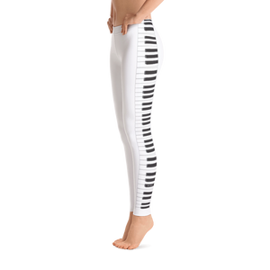 Womens Stylish Keyboard Design Leggings