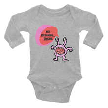 Not Screaming, Singing! Infant Bodysuit