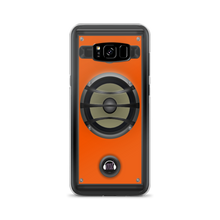 Orange Speaker Samsung Case
