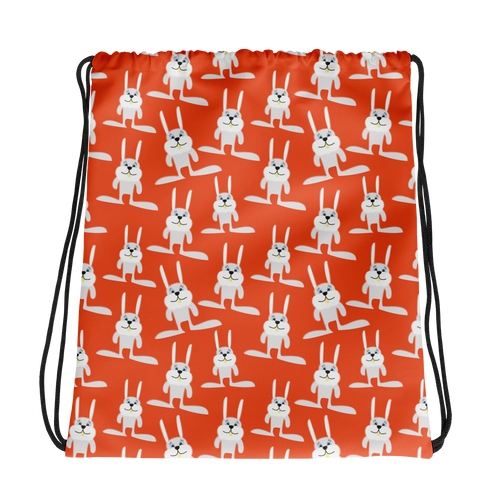 Hop-to-it Bunny Drawstring Bag