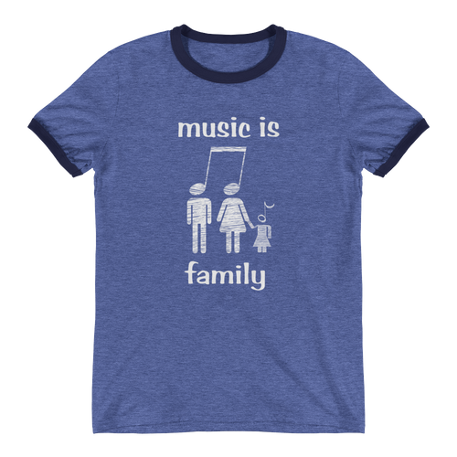 Music Family Ringer T-Shirt